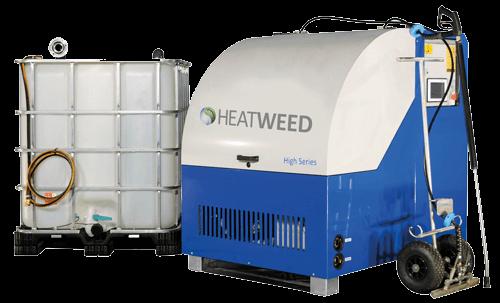 Onkruid laten verwijderen met de Heatweed
