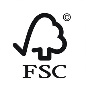 FSC gekeurd hout gebruiken