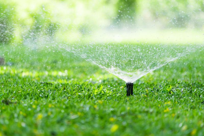 tuinberegening weer aansluiten