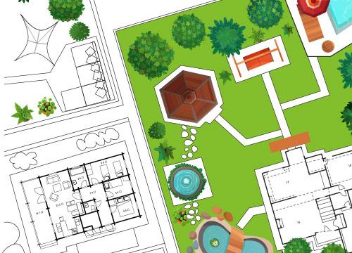 tuinontwerp voor kindvriendelijke tuin