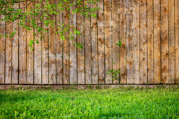 schutting voor privacy in de tuin