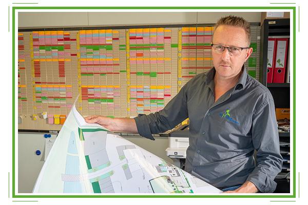 Ermert de Valk projectleider de Hoog Hoveniers