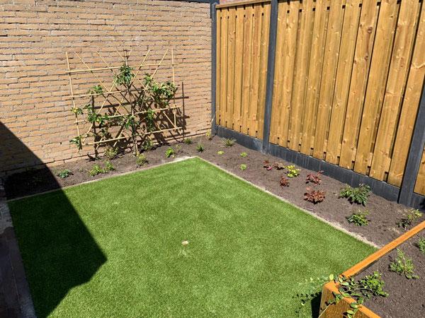 Groenstrook beplanting tuin Wijchen