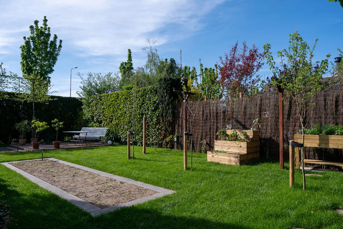 Renovatie achtertuin compleet