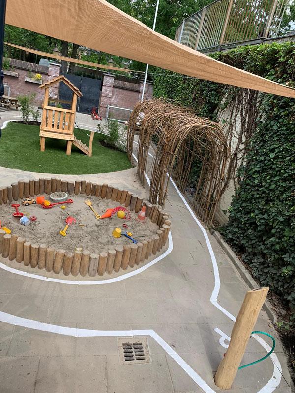 Kinderdagverblijf tuinen met beleving